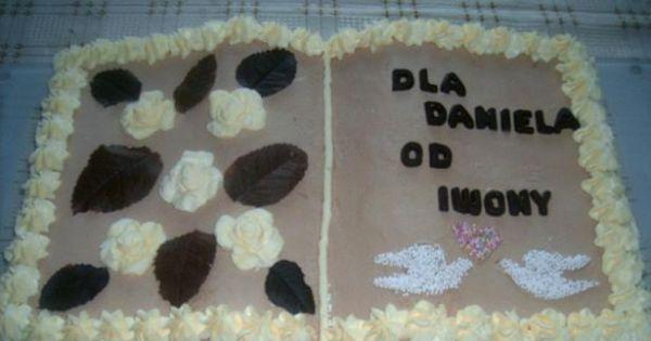 Tort książka  - tort książka