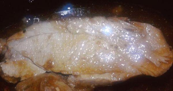 Udziec indyka w sosie własnym wg  Mamy - Klasyczne danie z indyka, doskonałe na niedzielny obiad.