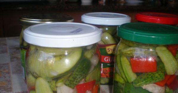 Warzywa w zalewie octowej - Warzywa w zalewie octowej