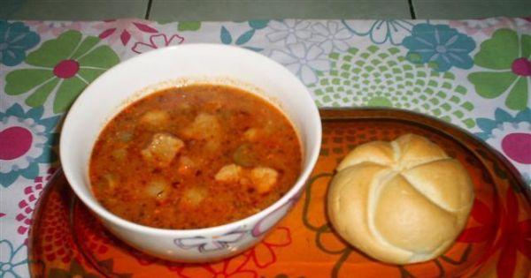 Węgierska zupa gulaszowa - Węgierska zupa gulaszowa