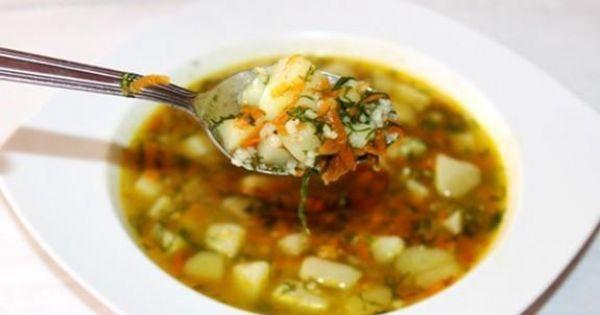 Zupa koperkowa z kaszą perłową - Pyszna wiosenna zupa samo zdrowie :) polecam