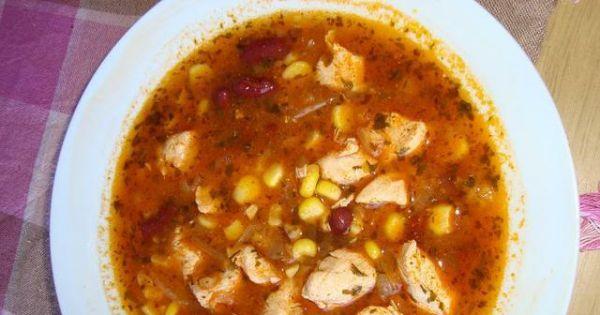 Zupa meksykańska - Zupa meksykanska