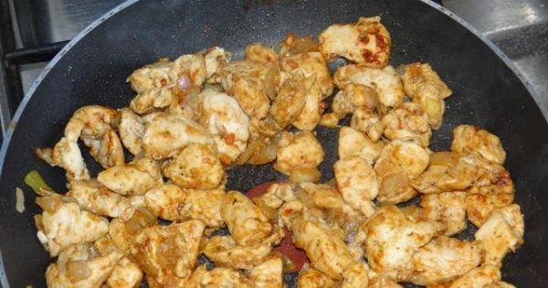 Zupa włoska z kurczakiem - Pierś z kurczaka podsmażana na patelni