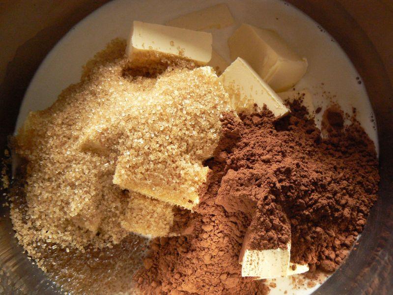 Andrut z masą mleczno kakaową