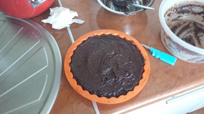 Angielski chocolate fudge cake