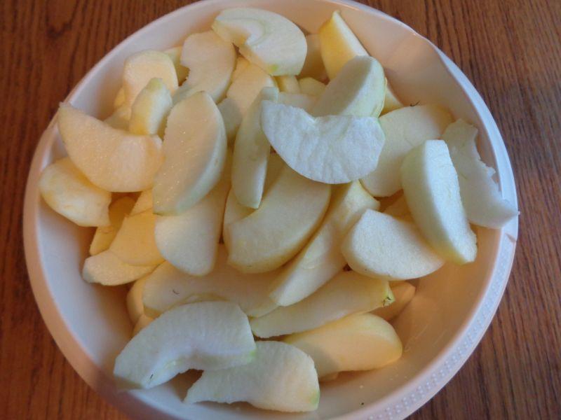 Aroniowy dżem z jabłkami