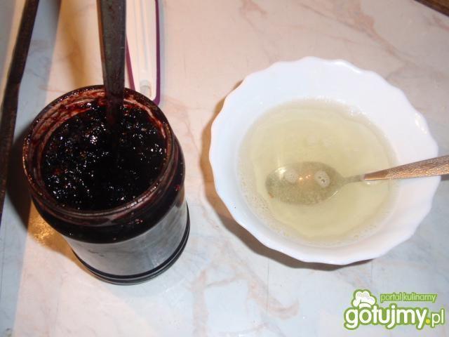 Babeczki jagodowo śmietankowe