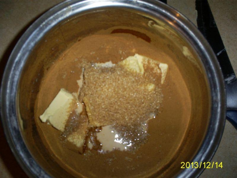Babka kawowo-piernikowa z żurawiną