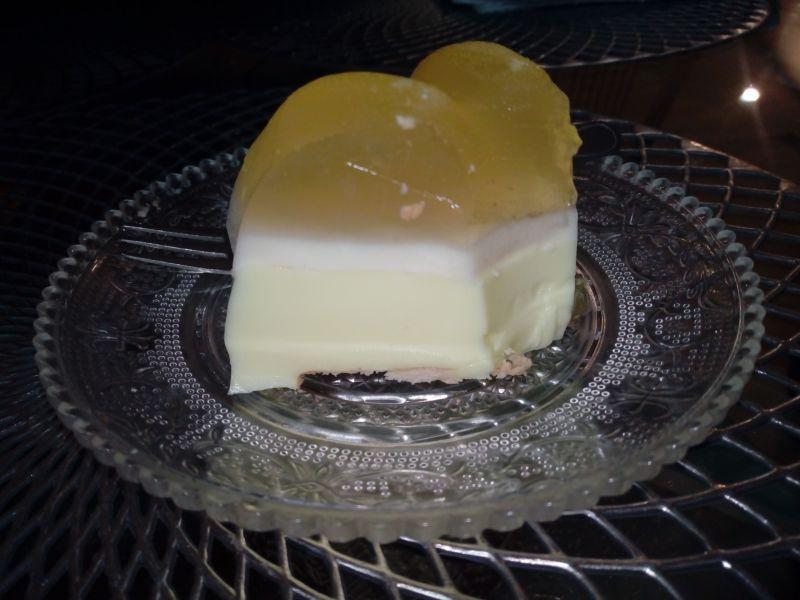 Babka na zimno o smaku cytrynowym - mango