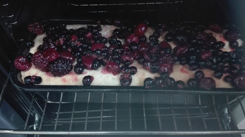 Babka z owocami