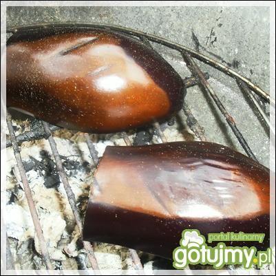 Bakłażan faszerowany na grillu