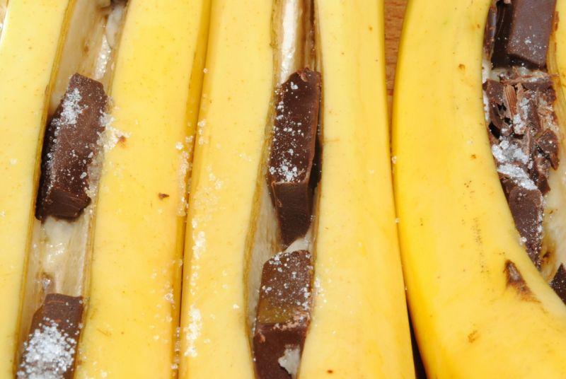 Banany z grilla