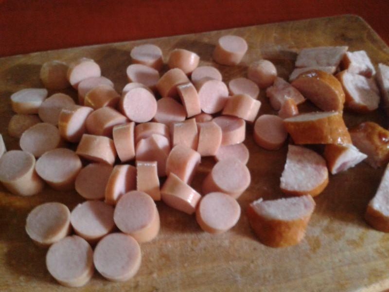 Bigos z cukinii z papryką