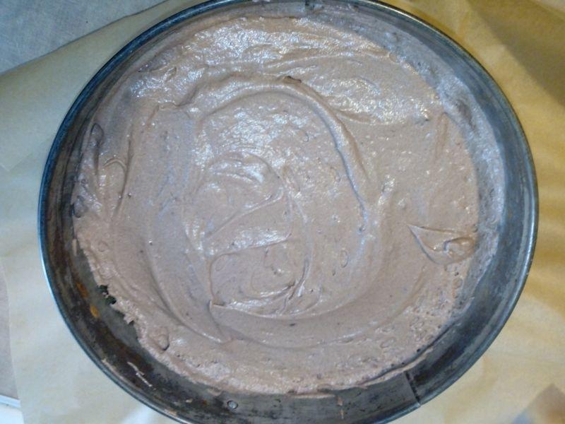 Biszkopt kakaowy na białkach