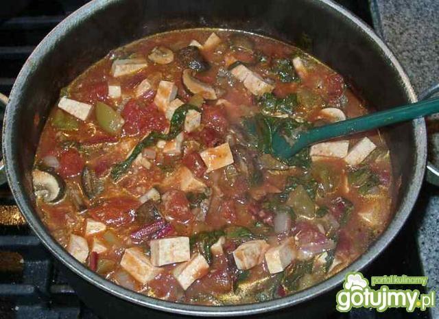 Boćwina i tofu