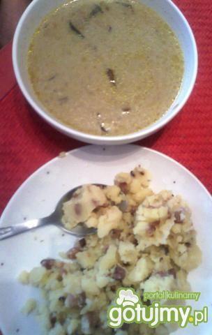 Borowikowa z kartoflaną wkładką