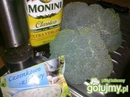 Brokuł z ziołami