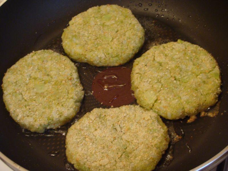 Brokułowo ryżowe kotleciki