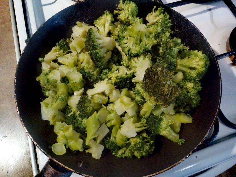 Brokuły z serem
