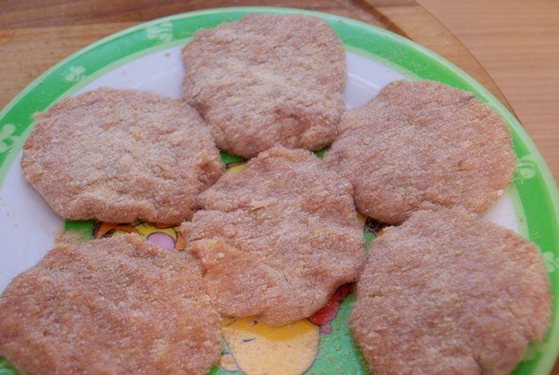 Brzoskwiniowe kotleciki na ostro