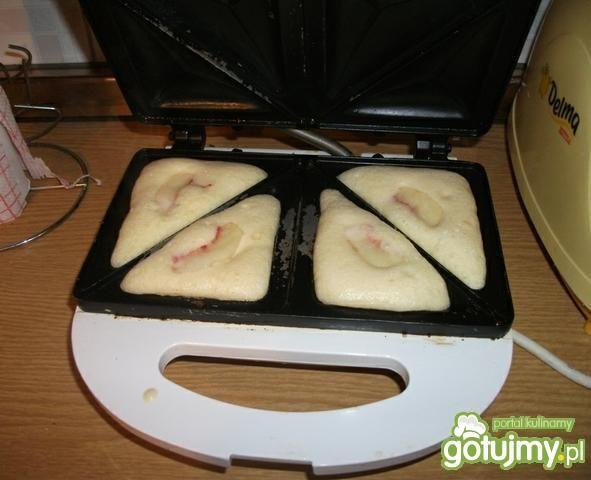 Brzoskwiniowe tosty
