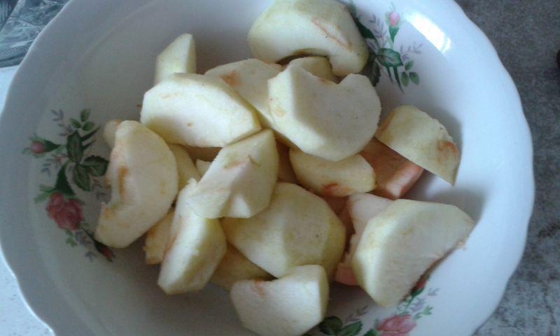 Budyniowe z jabłkami