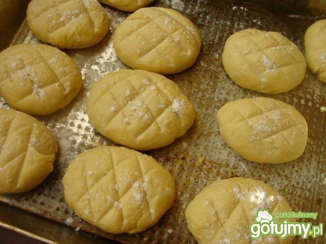 Bułeczki z mąką kukurydzianą