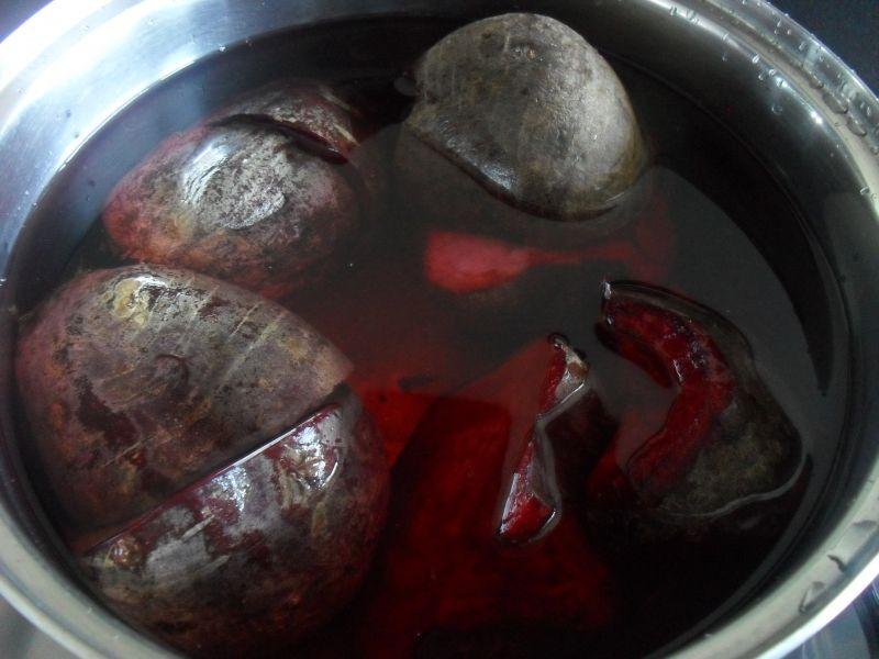 Buraczki czerwone do obiadu