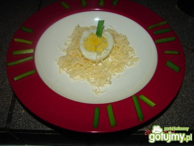 Buraczkowa z jajem