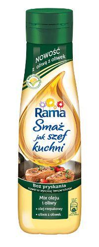 Rama Smaż jak szef kuchni z oliwą z oliwek