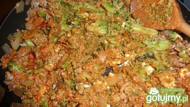 Cannelloni z mięsem i brokułami
