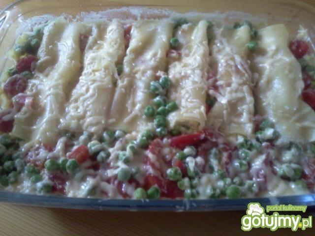 Cannelloni z serem ricotta