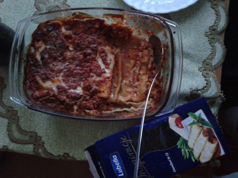 Canneloni z mięsem mielonym