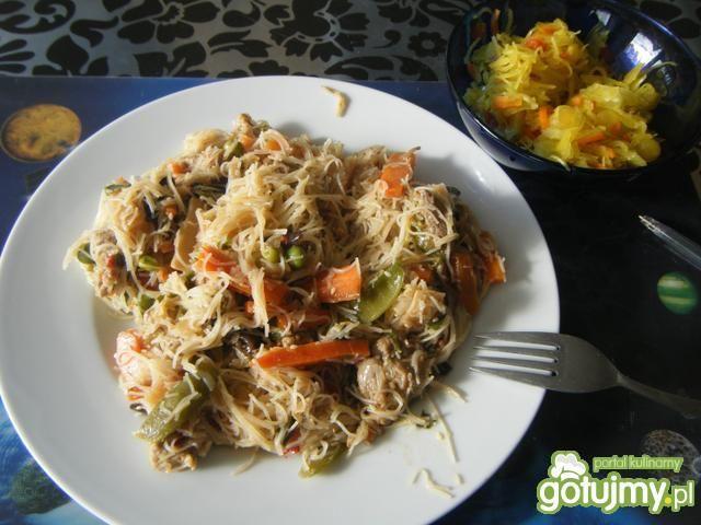 Chinski wok z sosem ostrygowym