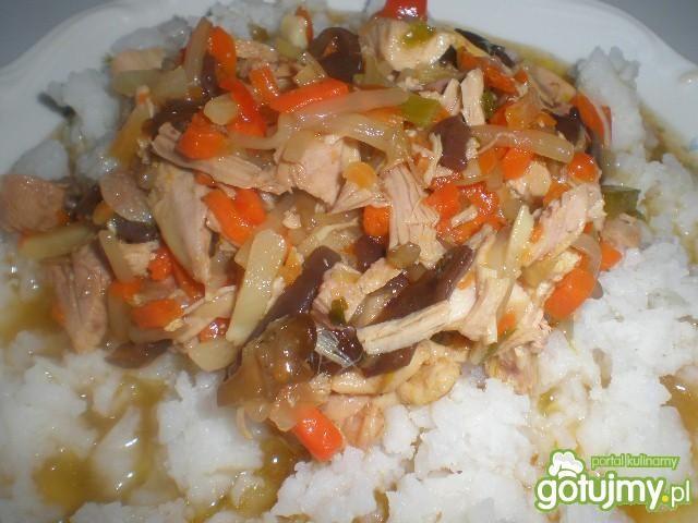 Chińskie danie domowe