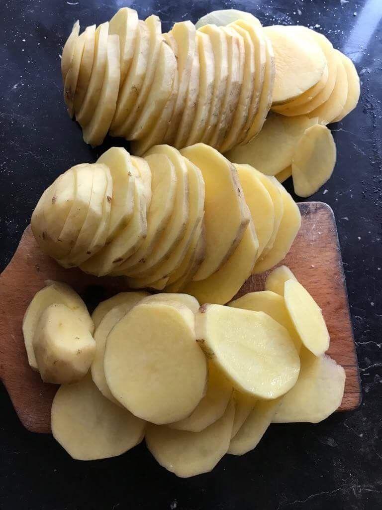Chipsy ziemniaczane z czosnkiem niedźwiedzim
