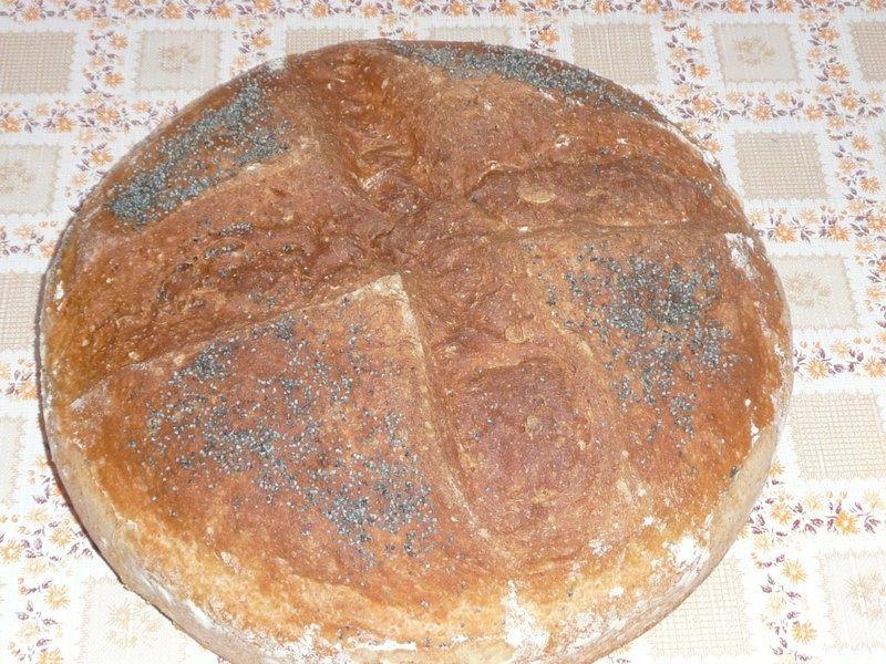Chleb pszenny z dynią