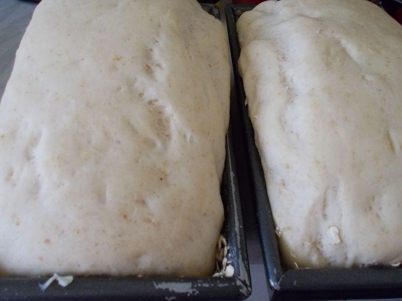 Chleb tostowy z dodatkiem siemienia lnianego