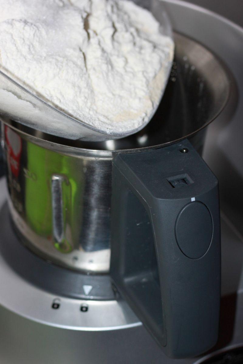 Chleb z pestkami dyni i otrębami żytnimi