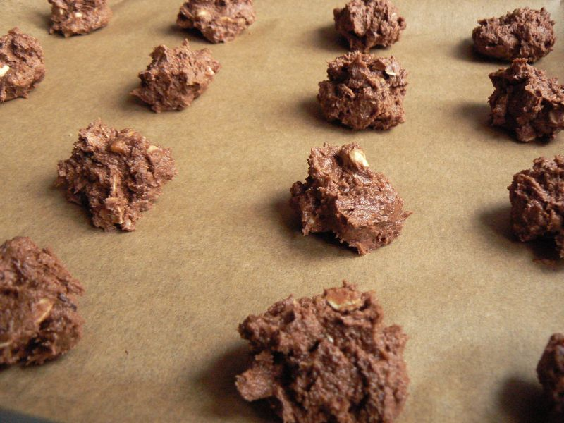 Ciasteczka czekoladowe na bogato