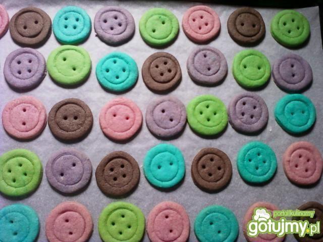 Ciasteczka guziczki