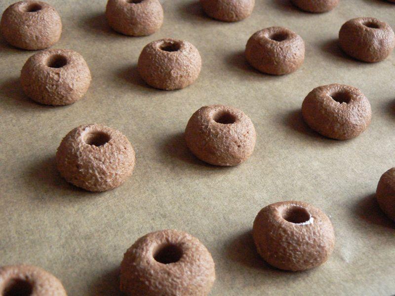 Ciasteczka kakaowe z orzechami
