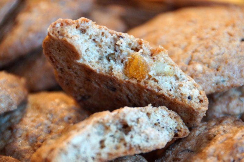 Ciasteczka orkiszowo-owsiane trzy smaki