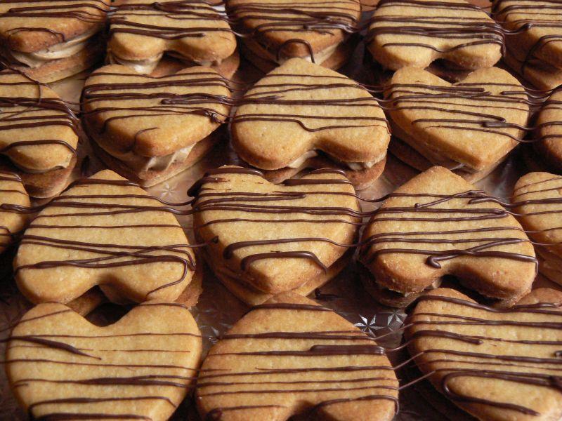 Ciasteczka podwójnie kawowe