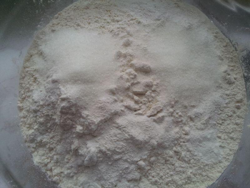 Ciasteczka w duecie orzechowo kokosowym wg. Irenki