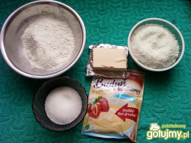 Ciasteczka waniliowo kokosowe