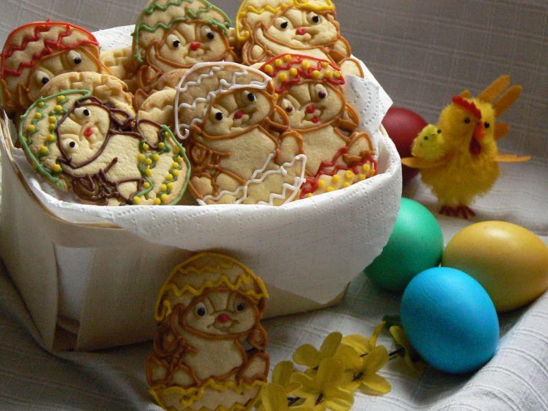 Ciasteczka wielkanocne zajączki