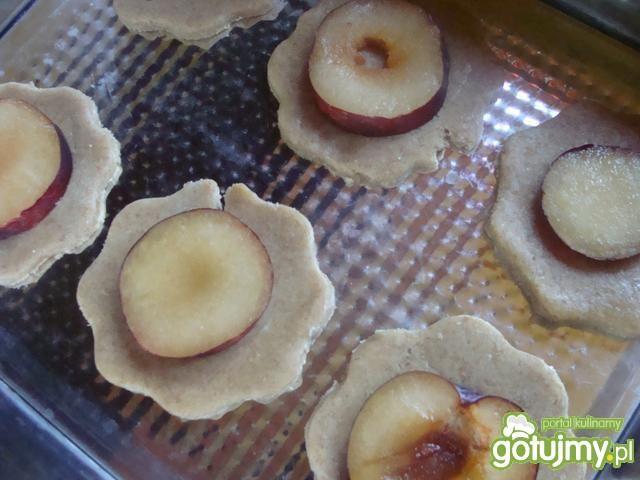 Ciasteczka ze śliwką i orzeszkami