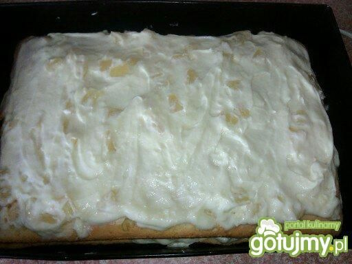 Ciasto - ananasowiec królewski