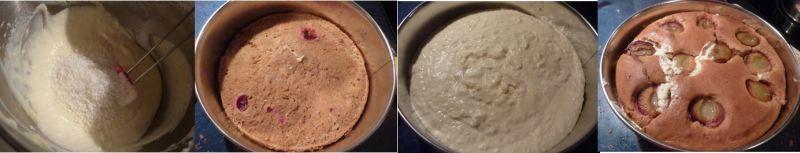 Ciasto cynamonowo - kokosowe